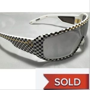 SPY Accessories - SOLD!  Vintage Spy Optic Tron Checkered Sunglasses